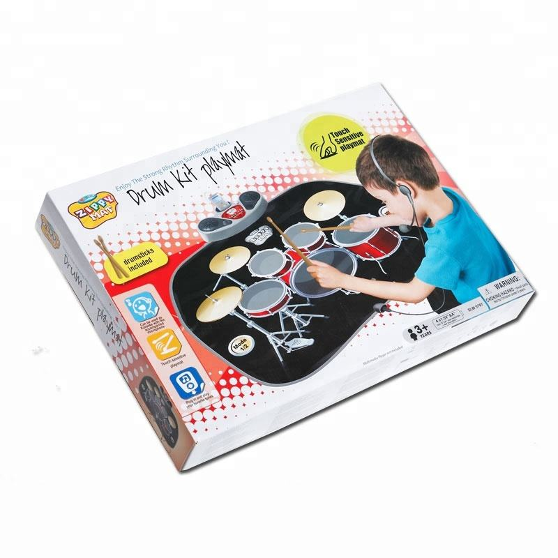 Musical instrument Baby play mat Electric drum kit educational toy children mat