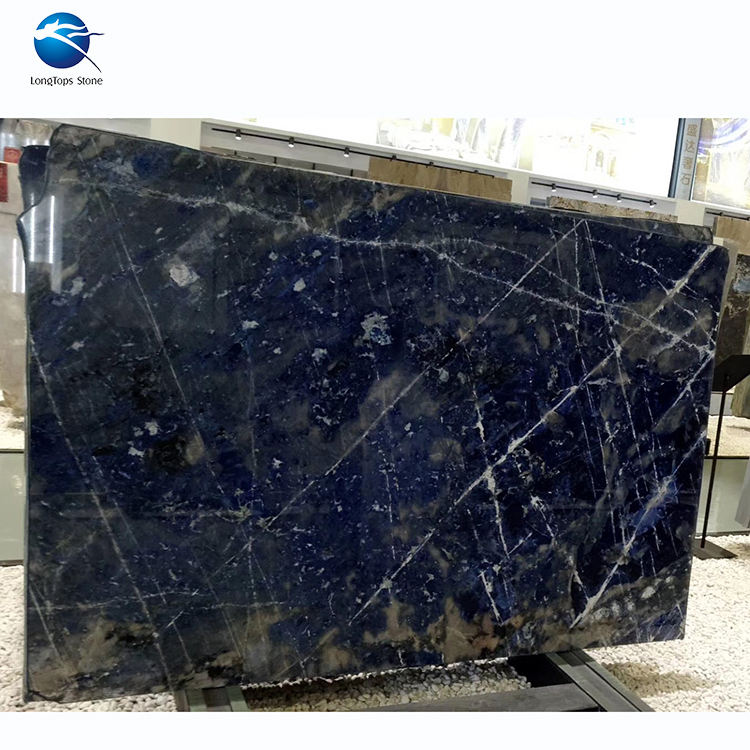 High grade Natural stone Book Match Stone Slab Onyx polished marble blue onyx importer