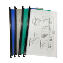 Legal size file folders PP suspension files hanging file with assorted colors