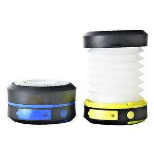 LED Camping Lantern Solar Power USB Pengisian Dilipat Senter
