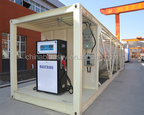 container fuel filling station