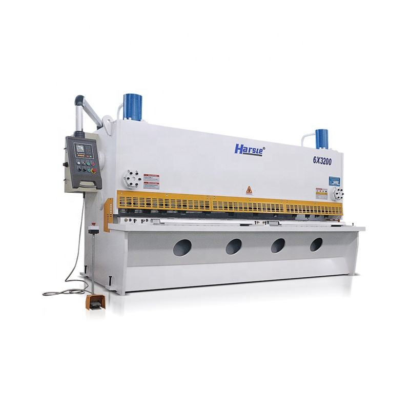 Guillotine shearing machine Stainless steel metal sheet iron plate sheet cutting machine QC11K 6x3200