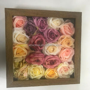 Shadow box Wood Window Flower Box Frame