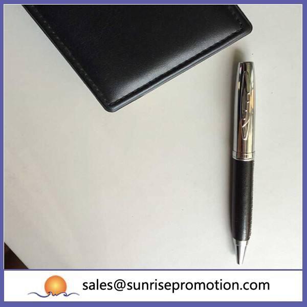 Métal stylo à bille avec Logo pour porte à porte