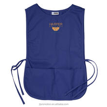 Poly-cotton Cobbler Vest apron with Two spacious front pockets with side tie closures