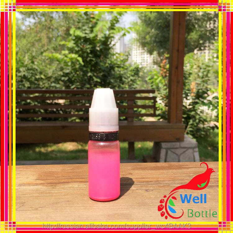 10 мл пластиковая бутылка долго наконечник с треугольника недоступном для детей крышкой для жидкость
