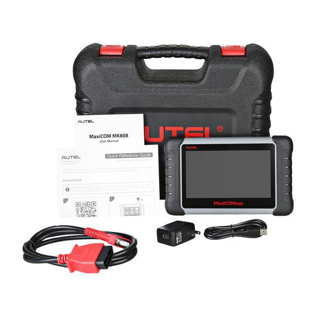Autel MaxiCOM MK808 obd2 scanner car diagnostic scanner with All System and Service Functions