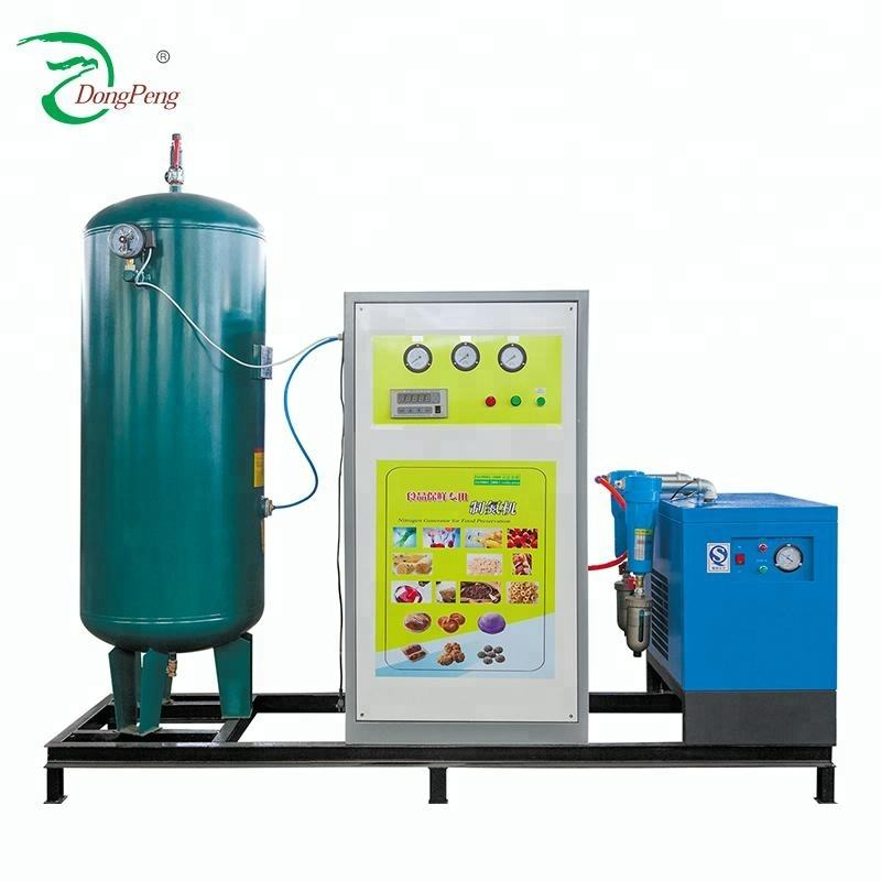 Dongpeng factory supply N2 gas inflation machine Nitrogen-Oxygen separator For Mineral water packing