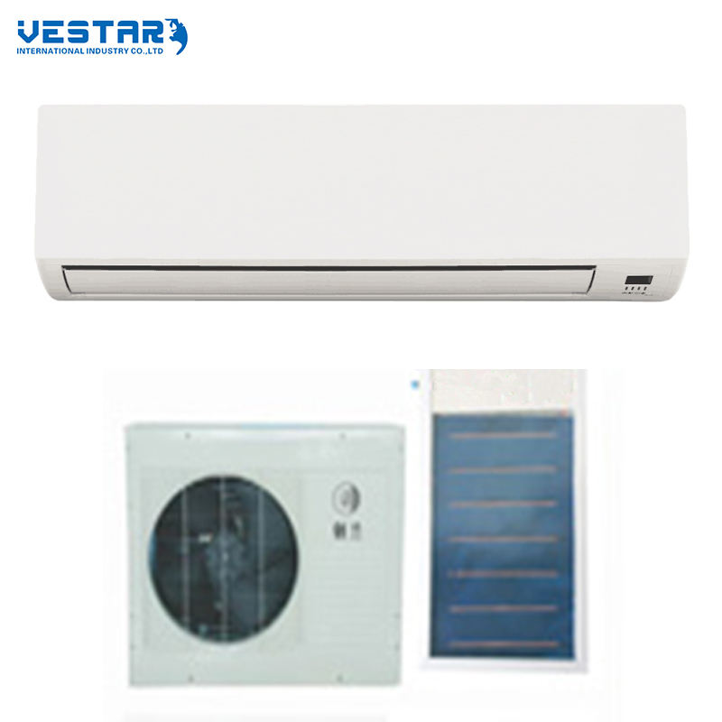 24v DC Multi-fold heat exchanger solar air conditioner cooling