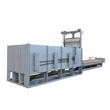 Heat treatment Industrial Electric Sintering Furnace Price, High Temperature Car Bottom Furnace