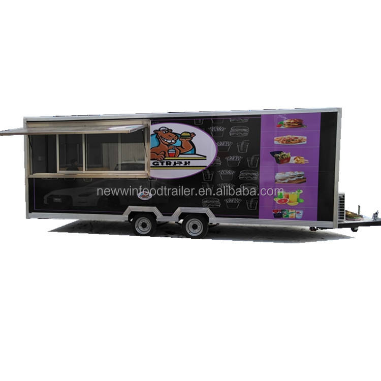 The best selling outdoor fast food mobile truck used food trucks for sale in germany