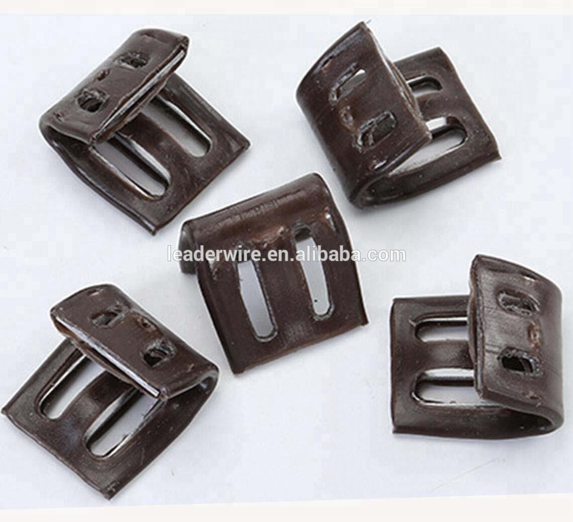 4 Hole 5 Hole Sofa Zigzag Spring Clip with Plastic Cover