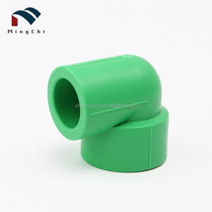 Plumbing pipe fitting ppr elbow socket tee for water supply