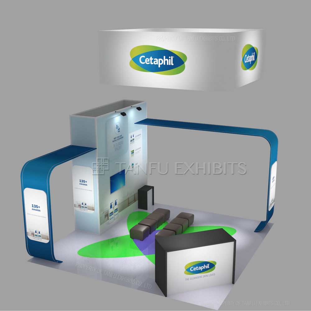 Exhibit Booth Design Ideas Trade Show Standard Booth