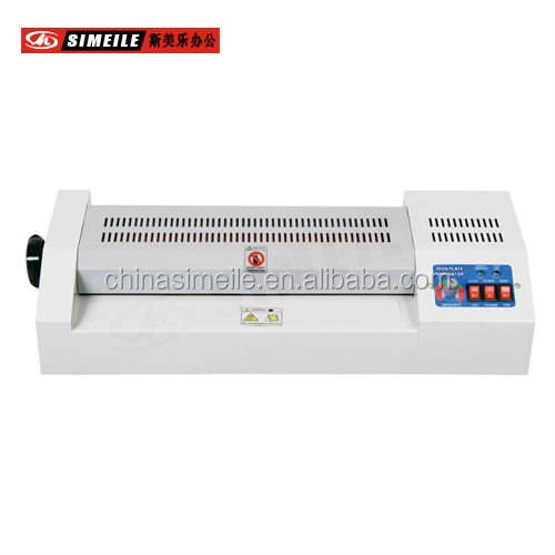 Plastic Pvc Card Laminator With Temperature Meter A3