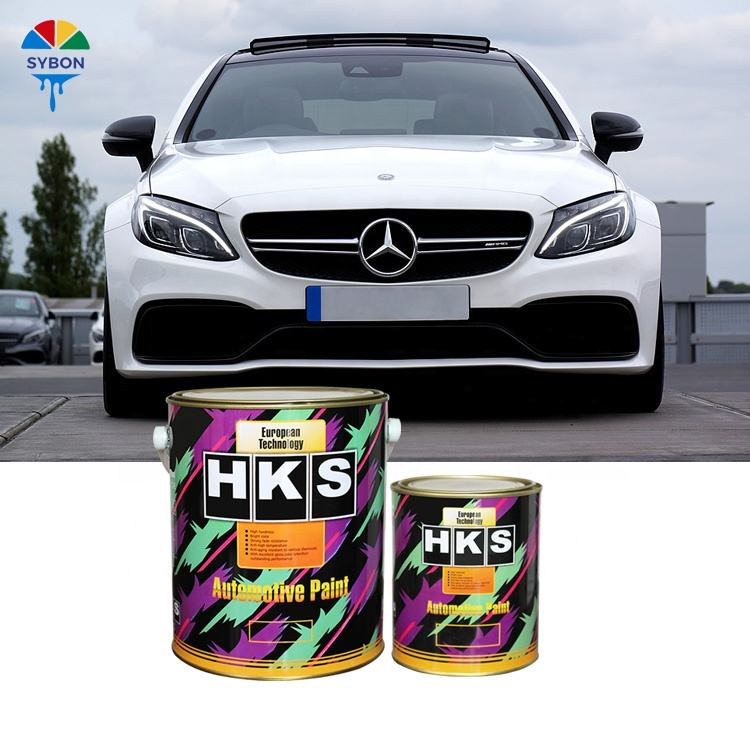 Car auto refinish paint 2k pure white autocryl base coat