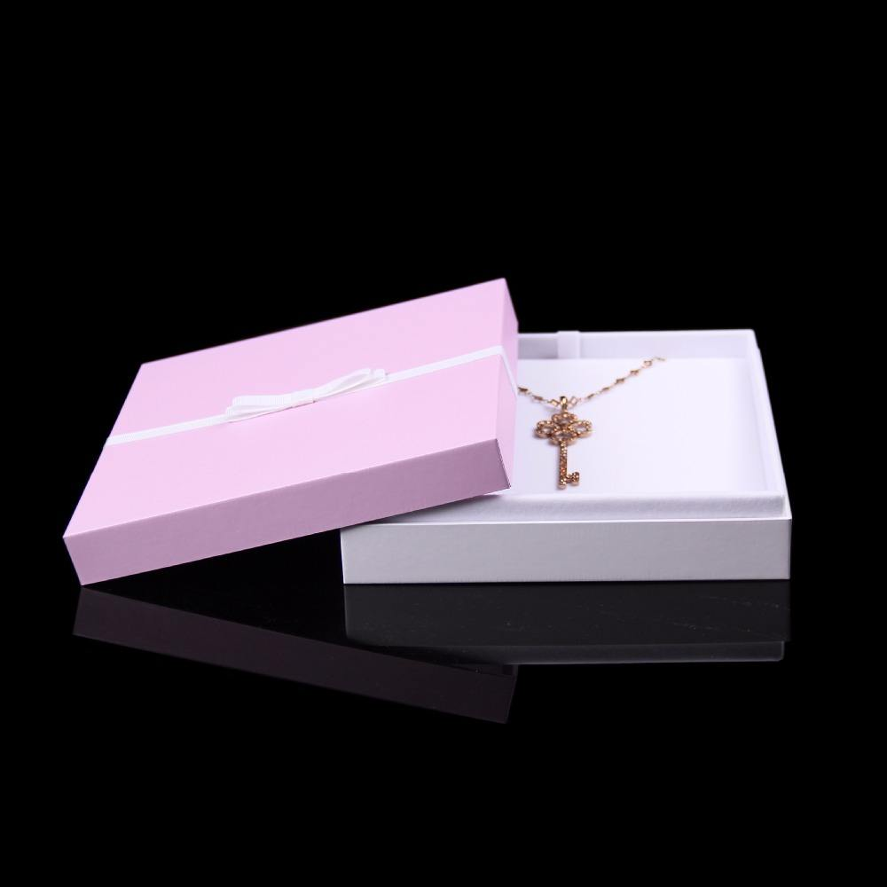 Luxury 엠보싱 Custom Logo Printed Gift Jewellery 링 Necklace <span class=keywords><strong>상자</strong></span>