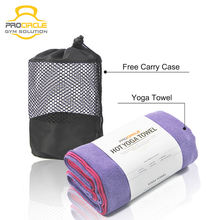 Wholesale Microfiber Non Slip Hot Yoga Mat Towel