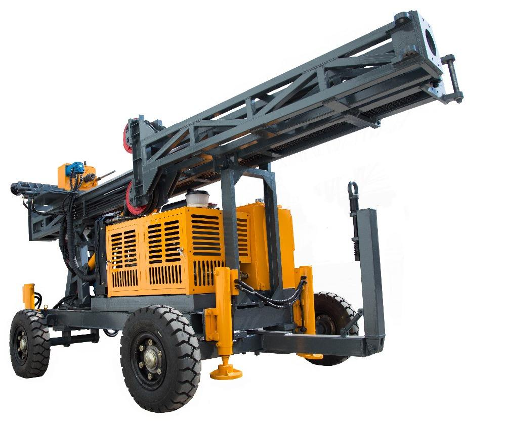GSD-2 Portable Water Well Drilling Rig Prospecting Core Drilling Rig Machine Mine Equipment