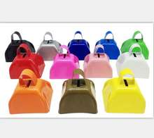 3'' promotional logo printing wholesale cow bells