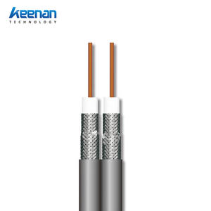 CCTV Coaxial Cable RG series dual RG58 RG59 RG6 coaxial cable