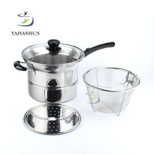 Good Quality Cheap Price Noodle Cooking Pots Glass Lids Stainless Steel Pasta Pot With Strainer