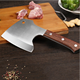 6inch Heavy Duty Stainless Steel Boning Kitchen Knife Chopping Cleaver Butcher Knife