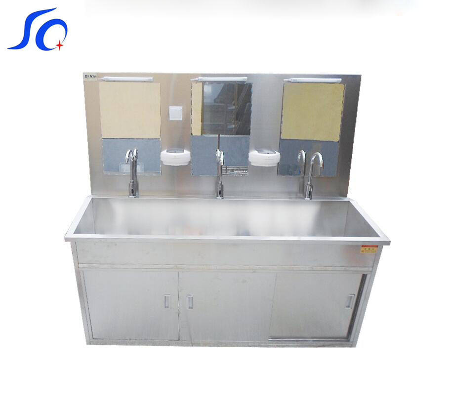 Operating Room Stainless Steel Medical Automatic Scrub Sink