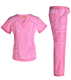 Wholesale New Style Customized Stretchy Hospital Nurse Scrubs Sets Medical Uniform for Women
