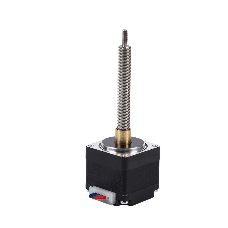 customizable 28#27H screw rod 86 long through type double shaft stepper motor for printer