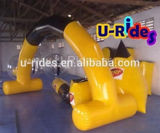 CE Certificate Robot Style Paintball Bunker For Shooting Game