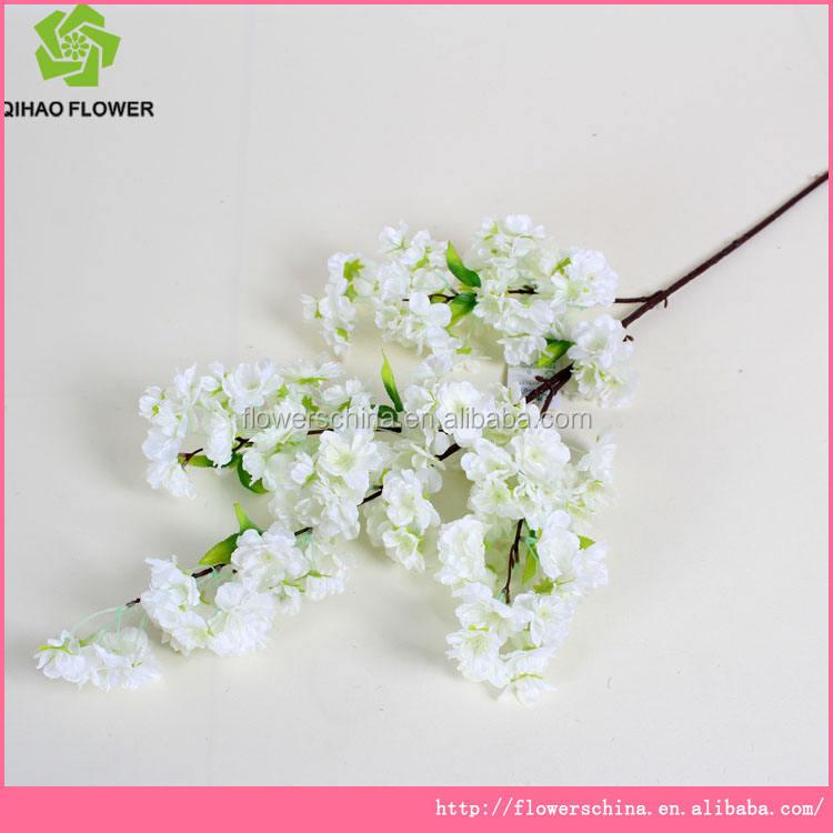 Aritificial quatre folk Cerise fleurs fleurs en gros fleurs