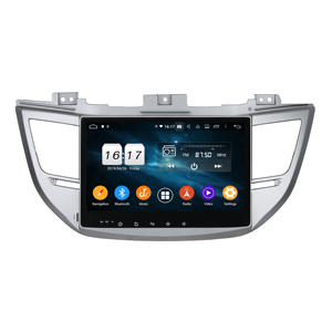 KLYDE Touch Screen 10 Zoll Android Auto Bluetooth MP5 MP4 MP3 Player Auto Radio GPS Für IX35/TUCSON 2015