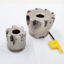 Roughing high feed face mill, high quality milling cutter, LNMU0303 cutting dia 63mm tools