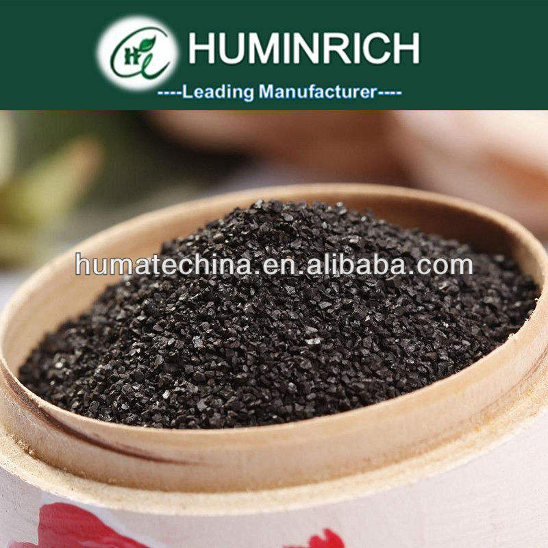 Bio humus fertilizer | Shiny crystal humate for agriculture soil