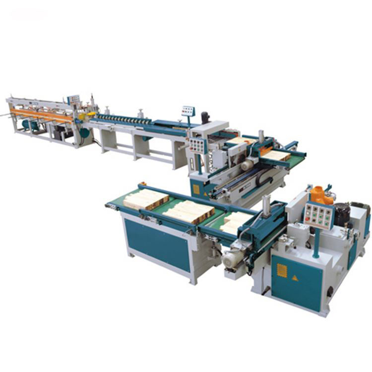 China HICAS Solid Wood Full Automatic Finger Joint Machine Line For Woodworking