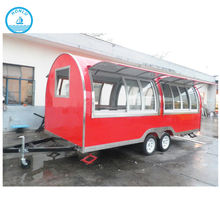 Factory buffet car chinese food truck/mobile snack bars for sale
