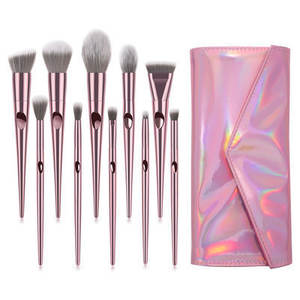 2021 hottest makeup brush set elegant new 10pcs cosmetic brushes