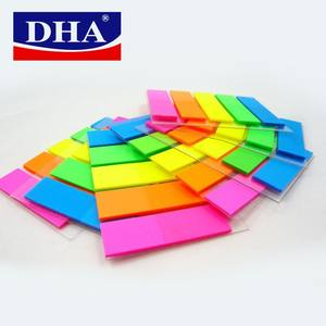 wholesale price neon paper index memo pad self-stick notes