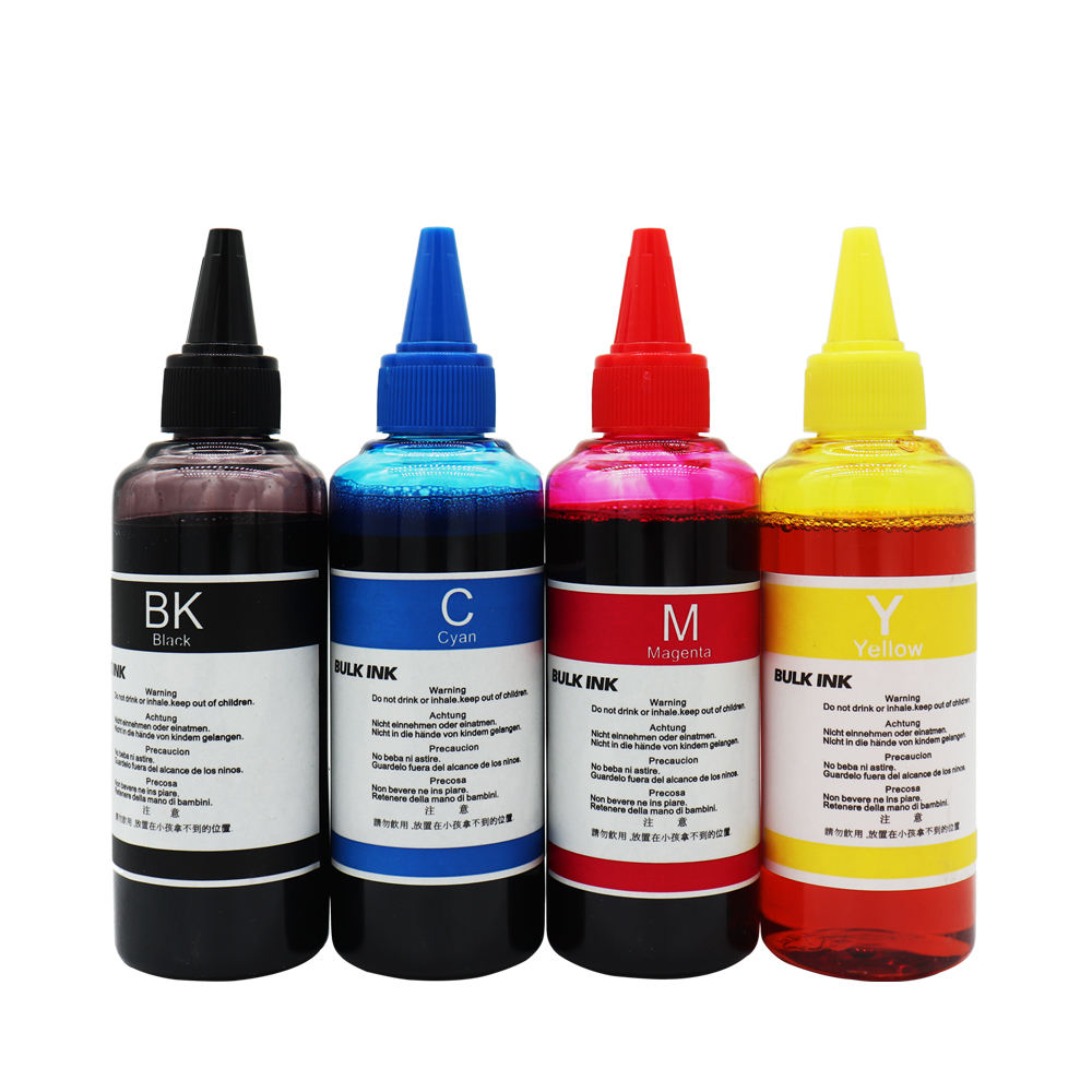 Imprimante à jet d'encre encre à colorant pour Canon epson HP Brother imprimante à encre à colorant 100ML