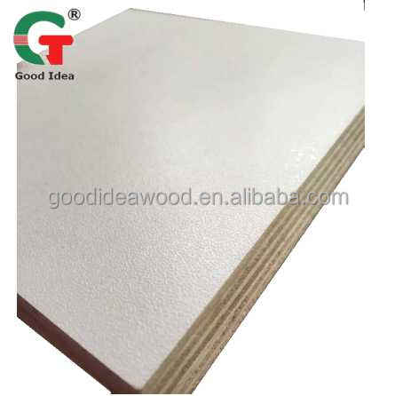 SGS furniture Furniture Usage Wood Grain 1220*2440mm Melamine Faced Plywood