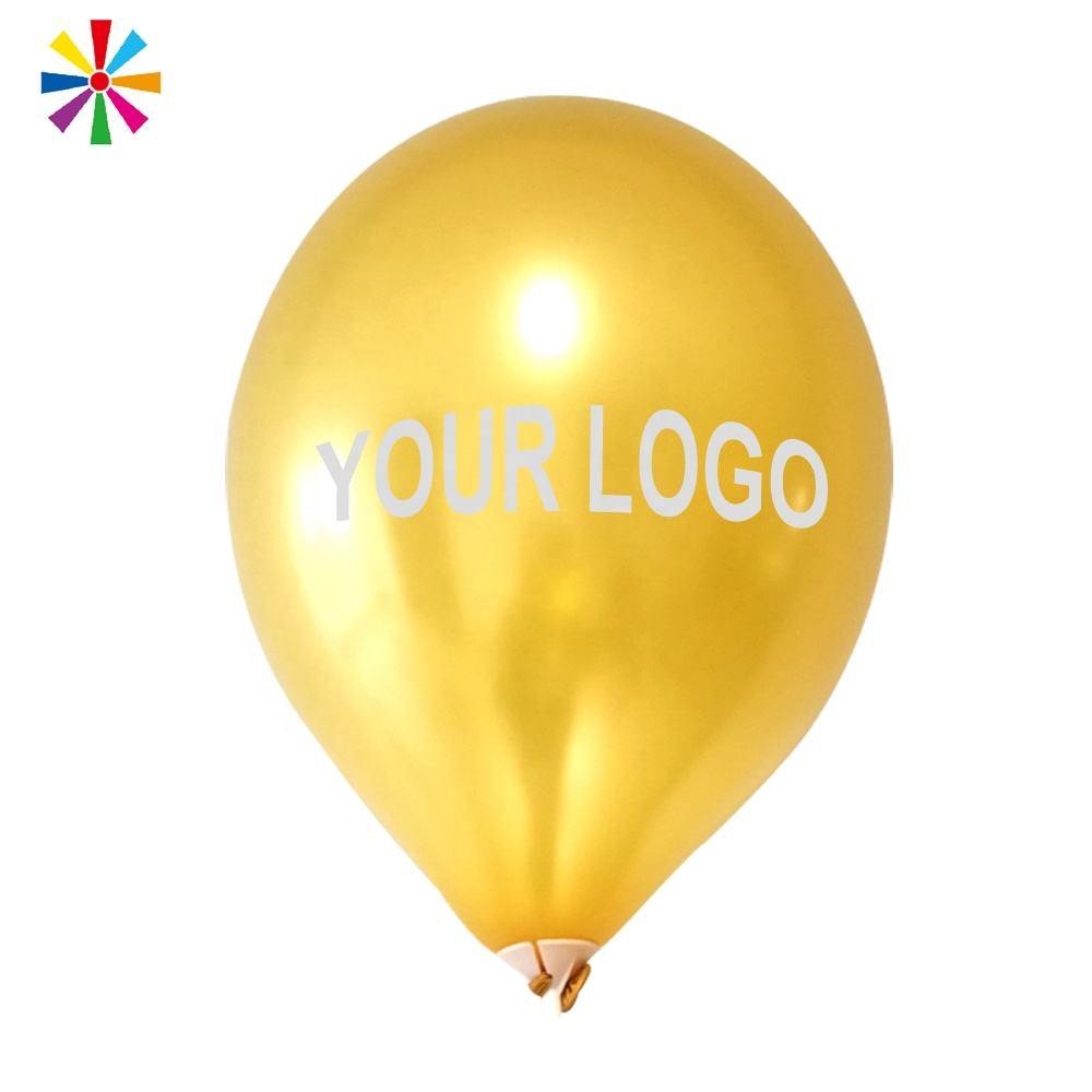 Promotion Round Helium Latex Ballons Design Printed Custom Logo Balloons