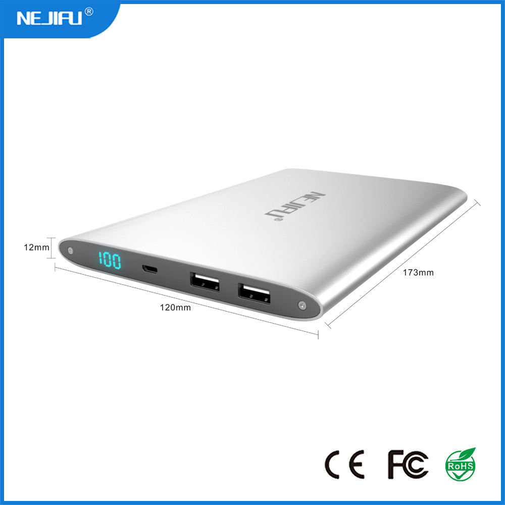 Hot sales power bank solar charger power bank for galaxy grand duos and dell