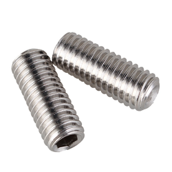 threaded rods with hole
