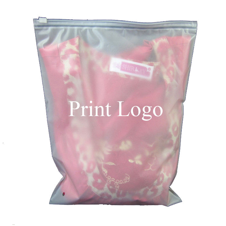 Logo Ziplock Seal Pe Baby Clothing Packaging Bag Zip Lock Plastic Bags Custom Printed