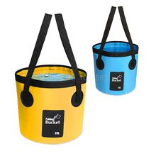 Outdoor Portable Camping Collapsible Bucket Folding PVC Water Bucket