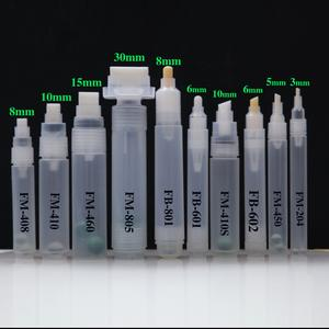 wholesale empty marker 2019 new aluminum empty markers pp material refillable empty paint marker pen