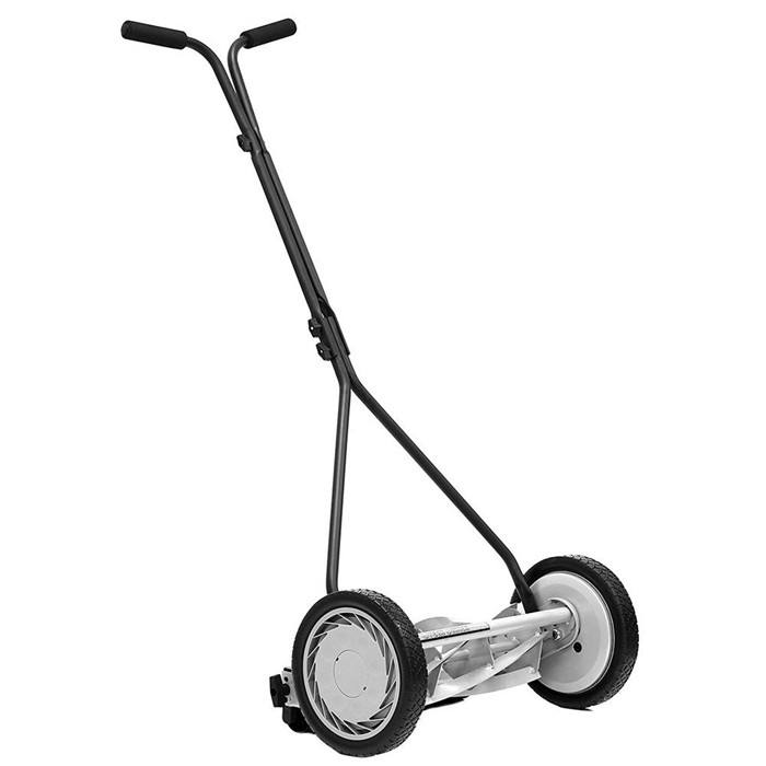 16 in. 5-Blade Walk-Behind Non-Electric Manual Push Reel Lawn Mower