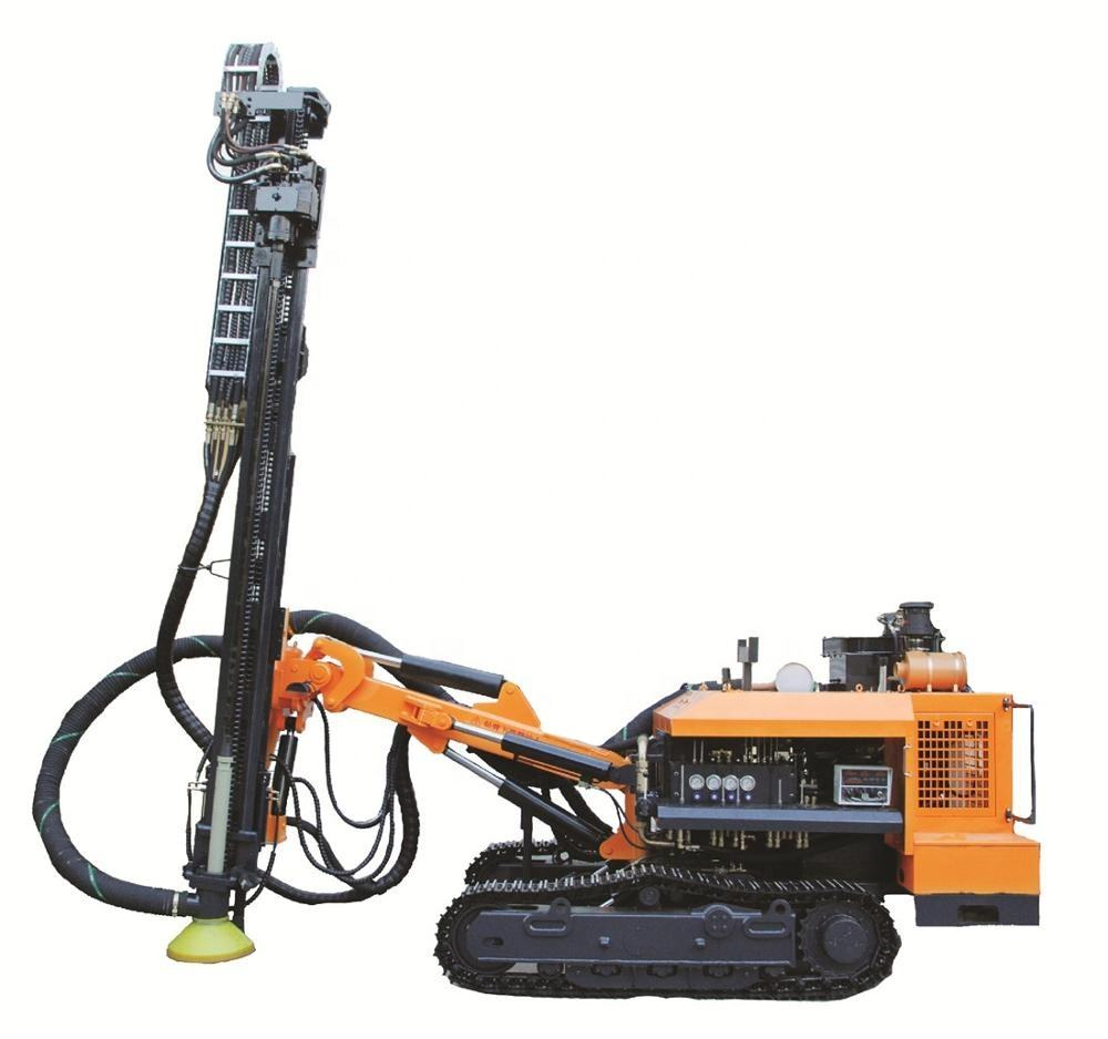 KG610 crawler DTH drill rig machine for mining, anchoring and road building