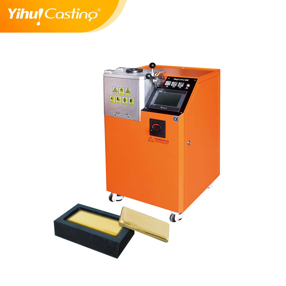 Factory direct sell gold bar machine for gold silver casting